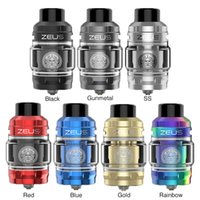 Wholesale geekvape drip tip for sale - Group buy Authentic Geekvape Zeus Subohm Tank ML Leak proof Function Drip Tip Atomizer with Mesh Z1 Z2 Coil