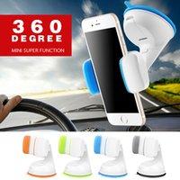 Wholesale cell phone bracket mounts online – Car Stand Holder Universal Car Windshield Mount Suction Cup GPS Cell Phone Holder Stand Bracket