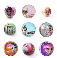 Wholesale limited edition toy for sale - Group buy 18style unicorn Bling GLAM glitter pet Confetti Pop Series cm doll Bffs Limited Edition doll Action figures Girls Christmas gift dhl free