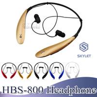 xiaomi bluetooth box großhandel-HBS800 Drahtloser Kopfhörer Headset Bluetooth 4.0 In-Ear-Stereo-Ohrhörer Sport Jogging-Kopfhörer für iPhone Samsung XIAOMI LG Huawei mit Box