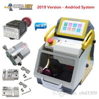 Wholesale laser cut keys machine for sale - Group buy Top Quality Newest SEC E9 Laser Engrave Machine For Auto And House Keys All Lost Copy Funtional more than Slica Key Cutting Machine