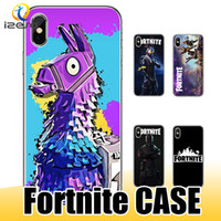 Wholesale iphone plus game case for sale - Fornite Phone Case for iPhone XS MAX XR X Samsung S10e S10 Plus Hot FPS Game Designer Soft TPU Back Cover