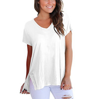 Wholesale sports t shirts purple for sale - Womens Short Sleeves Designer Womens Casual T Shirt New Fashion Womens T Shirt Casual Sports Short Sleeve Size S XL
