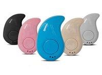 petits écouteurs achat en gros de-Mini S530 Bluetooth Écouteurs Sans Fil Bluetooth Casque Minuscule Seul Mains Libres Écouteur Sans Fil Mini Écouteurs pour Sport