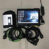 Wholesale latest tablet resale online - MB Star C4 SD C4 with latest Soft ware V OBD2 Code Reader Used Laptop X200T tablet PC GB SSD for Auto diagnosis Tool