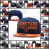 örme şapka ayı toptan satış-2019 Chicago Ayarlanabilir Şapka ayılar Nakış Takımı Logosu Snapback Tüm Takım Wholeasle Örgü Kasketleri Bir Boyut Caps