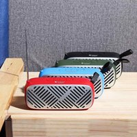 Wholesale mp3 player speakers radio for sale - Group buy Rechargeable bluetooth FM Radio Dual Speaker Radio Support FM USB Micro SD Card MP3 Player Wireless Speaker