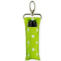 clover hooks 도매-클로버 립스틱 주머니 그린 웨이브 포인트 채프 스틱 홀더 금속 후크 리본 가방 멀티 컬러 휴대용 단색 세일