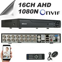 Wholesale dvr nvr recorders for sale - Group buy 16CH AHD N CCTV CAMERA VIDEO RECORDER CLOUD DVR NVR HVR HOME SECURITY F7O8