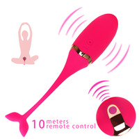 bälle sex fernbedienung großhandel-Vibrierendes Ei-Fernsteuerungszerhacker-Geschlechtsmassager-Liebesei für Frauen-Übungs-Vaginalmassage Kegel-Kugel G-Punkt USB-Neuladen