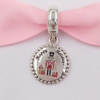 Wholesale dangling necklaces for sale - Group buy Authentic Sterling Silver Beads Nutcracker Dangle Charm Charms Fits European Pandora Style Jewelry Bracelets Necklace ENG791169_93
