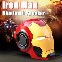 Wholesale mini woofer for sale - Group buy Wireless Bluetooth Speakers Iron Head Man portable mini Hifi stereo phone Subwoofer computer PC woofer sound bar boom box