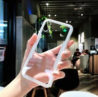 Wholesale pro wrap resale online - For Huawei Mate Pro transparent cover wrapping edge shell Mate Lite simple phone case simulation glass case