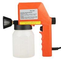 herramientas menos al por mayor-600 ml de gran capacidad de aire eléctrico menos pintura pulverizador de mano pulverizador herramienta 220 v 50 Hz 75 W 0.5 A Eu enchufe