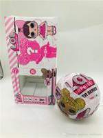 Wholesale magic toy bottles for sale - 10cm Glitter Series3 Doll Magic Egg Ball Action Figure Toy Kids Unpacking Dolls Girls Funny Dress Up Gift Funko POP