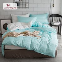 Wholesale single size bedding sets for sale - SlowDream Bedding Set Duvet Cover Set Bed Linen For Adult Euro Bedspread Underwear Single Nordic Queen King Size Bedclothes