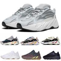 Adidas Yeezy Boost 700 Vendita all ingrosso Wave Runner 700 Kanye West Glow in Dark Reflective line 2017 Nuove scarpe da corsa taglia 36 46 Con fondo