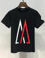 les tee-shirts les plus drôles achat en gros de-Luxe homme jogging costume diamants de luxe design Tshirt mode t-shirts hommes t-shirts drôles tops et t-shirts en coton de marque.