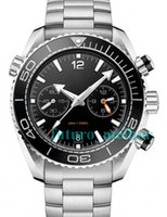 mens aço inoxidável relógio bond venda por atacado-Luxo New Automatic Mecânico Mens relógios James Bond 007 aço inoxidável watchw Design dos homens Esporte Mergulho Skyfall Relógios de Pulso Auto-vento