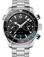 relojes de diseño mecánico al por mayor-Relojes mecánicos nuevos de lujo para hombre Relojes de acero inoxidable James Bond 007 watchw Diseño de hombre Buceo deportivo Skyfall Relojes de pulsera automáticos
