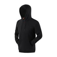 chapéu preto sólido venda por atacado-SD 20006 cf 2019 outono e inverno festival homens e mulheres jovens universal pullover cor sólida camisola coat Black Hat