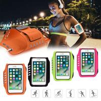telefones celulares com tela de toque desbloqueada venda por atacado-Nova braçadeira do telefone móvel da tela de toque impressão digital desbloquear cinto para esportes ao ar livre yoga execução para 4.5-5.5 polegadas telefones celulares