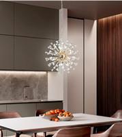 Wholesale lamp foscarini resale online - 2019 Postmodern Luxury LED chandelier lighting Crystal creative living room hanging lamp Nordic restaurant bedroom lobby fixtures