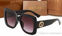 güneş gözlüğü toptan satış-2019 yüksek kaliteli l kadın güneş gözlüğü yeni moda Tam kare UV400 lensi 0083 güneş gözlüğü