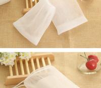 New Soap Blister Bubble Net Mesh Soap Face Wash Froth Nets Soap Mesh Bag Manual Bag Bathroom Accessories