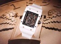 çin otomatik kol saati toptan satış-erkekler için erkek otomatik çin paslanmaz çelik saatler otomatik saatler için lüks İskelet moda rahat kare c saatler