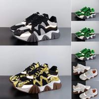 cadena en forma de al por mayor-2019 nuevos zapatos de diseñador casual de reacción en cadena en forma de caja para hombres 3 m reflectante para mujer zona de moda superior enlace en relieve suela entrenamiento 35-46