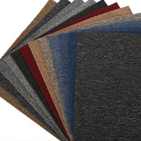 Wholesale pvc room floor mat for sale - Group buy inch Non slip Carpets Mats Office Splice Carpet Solid Color Rugs For Hotel Billiard Room PVC Floor Mat Kitchen DH0898