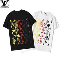 italienische menshemden marken groihandel-8LouisVuittonGucciItalienische Marke Mens luxuryT Shirts der Frauen der Männer beiläufige Art und Weise kleidet T Shirts Top Short Sleeve a01
