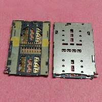 cartão sim zte venda por atacado-10pcs SIM Card Reader Suporte bandeja slot do conector para ZTE C2016 B2015 mini-bv0701 bv0720 Meilan E A680Q M1E memória soquete sd TF