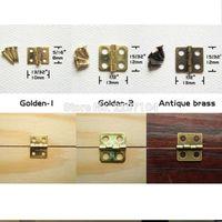 Miniature Papillon Charnières décoratif Boîte à bijoux armoire Dollhouse Charnières de porte