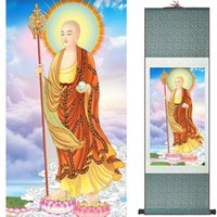 Wholesale portraits paintings for sale - Group buy Guanyin painting Traditional art Portrait painting Home Office Decoration painting