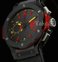 Wholesale stainless steel ss resale online - 2019 New Red Mens Automatic movement Watch Self wind men Mechanical Watches Fashion Sports SS Wristwatches
