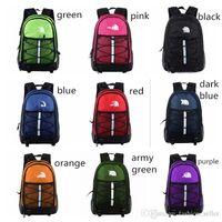 Wholesale orange sports backpacks for sale - Group buy The North Designer Luxury Backpack Boys Girls Casual Backpacks Travel Knapsack Outdoor Sports Bags Students School Bag Colors