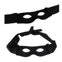 siyah kırmızı parti malzemeleri toptan satış-Yeni Kırmızı Siyah Parti Maskesi Cadılar Bayramı Malzemeleri Yetişkin Erkek Kadın Villain Joke Bandit Zorro Göz Maskesi Tema Part ...