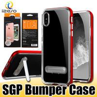 neo vakalar toptan satış-IPhone 11 için XS MAX XR 8 SGP Neo Bumblebee Durumda Samsung NOT için 10 Artı Perakende Ambalaj ile S10 Ince Zırh Portector