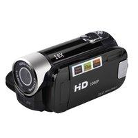 Wholesale handheld digital video camera online - 2 Inch TFT Screen X Digital Zoom DV Video Camcorder HD P Handheld Digital Camera Cmos Sensor Up To GB SD