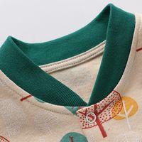 ingrosso pigiami organici-Neonato Pigiama neonato Abbigliamento Bambino Snug Fit Footed pigiama di cotone antiscivolo abbigliamento Footed Sleeper Pjs Organic Cotton baby