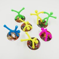 Wholesale man climbing magnets for sale - Group buy Magnet Bendy Men Kids Funny Toy soft plastic magnet Superman Cartoon climbing wall doll Child DIY educational toy Venting doll For Autism