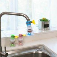 ingrosso bolle di rubinetto dell'acqua-L'acqua del rubinetto da cucina Filtro doccia economizzatore acqua con fibbia 360 gradi Ruota Splash Proof Tap Filtri Bubbler 2 9LS H1