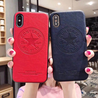 Wholesale iphones for sale - Group buy For iPhone X XS Max XR s Plus phone case iphones Top luxury designer phone cases leather iphone case