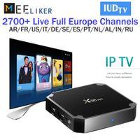 Wholesale iptv arabic 4k for sale - Group buy Spainish K X96 mini Android Smart TV Box IPTV Year Abonnement SUBTV IUDTV IPTV Subscription Arabic Europe IPTV Top Box