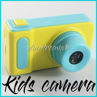 Wholesale free camera toy resale online - K7 Kids Camera Mini Digital Camera Cute Cartoon Cam P Toddler Toys Children Birthday Gift Inch Screen Cam cheapest