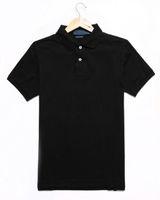 модные мужские рубашки поло оптовых-Роскошный Дизайнер Поло Для Мужская Рубашка Поло Лето Марка Поло Мода Мужские Топы С Коротким Рукавом Одежда Высокого Качества