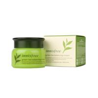 ingrosso tè verde della pelle-Top Great Quality Innisfree Green Tea Balancing Cream Idratante Viso Cura per la pelle Crema per la cura della pelle 50ml spedizione gratuita