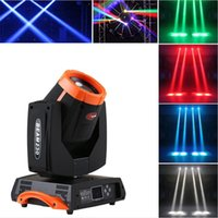 effekträder groihandel-Raibow Effekt 7R Sharpy 4in1 230W Moving Head Beam Licht Mit 7 rotierenden Glasgobos und Doppelprismenrädern für DJ Bühnenbeleuchtung